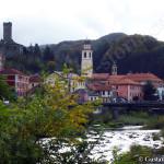 veduta del paese di Campo Ligure
