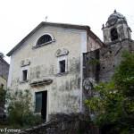 la facciata della Parrocchiale di Sant'Andrea