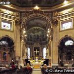 Duomo di Loano: interno verso l'abside