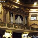 Duomo di Loano: l'organo nella controfacciata
