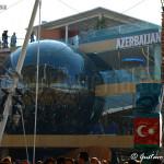 esterno del padiglione dell'Azerbaijan (Expo 2015)