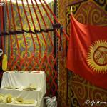 interno del padiglione del Kirghizistan (Expo 2015)