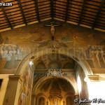 L'arco di trionfo con gli affreschi