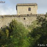 il castello di Oramala - lato nord