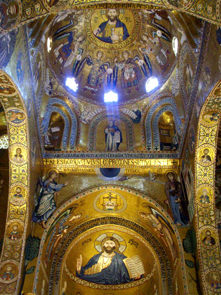 La cappella palatina nel palazzo dei normanni, Palermo