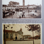 Cartoline raffiguranti piazza Meardi a inizio Novecento