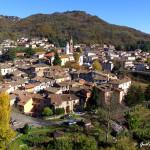 Il borgo antico e il paese nuovo, con le due chiese