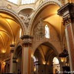 Fig. 1: l'interno della cattedrale di Valencia.