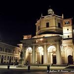 san lorenzo milano di notte