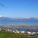 la riva del lago di Garda