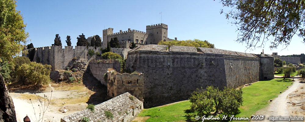 le mura della città di rodi
