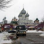 un freddo inverno a Rostov Velikij