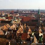 Norimberga vista dal Kaiserburg