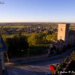 veduta del castello Beccaria da sudest