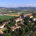 Il castello al centro del paese