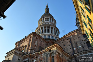 Novara, la cupola di San Gaudenzio