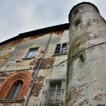 torre e facciata nord-ovest del castello di Gambolò