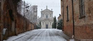 Una domenica di neve a Montebello della battaglia (10-12-2017)
