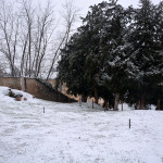 il giardino del castello Beccaria. Montebello della battaglia (PV)