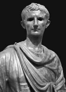 Gaio Giulio Cesare Ottaviano, ritratto giovanile
