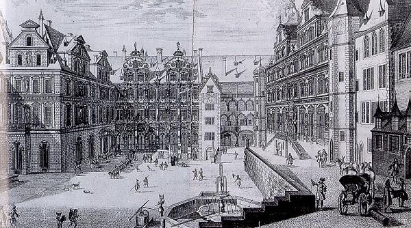 Hof Heidelberger Schloss