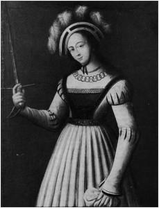 """Fig. 4, """"Jeanne des echevins"""", 1581"""