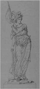 Fig. 5, Disegno di Gois figlio[62], inciso da C. Normand, 1803