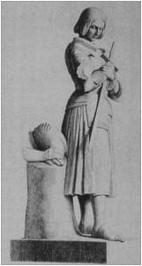Fig.6, la statua di Marie D'Orleans