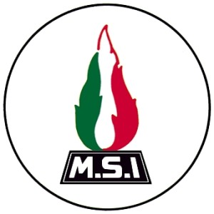simbolo del Movimento Sociale Italiano