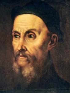 Giovanni Calvino, ritratto di Tiziano