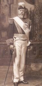 Il Presidente Julio A. Roca in una foto d'epoca