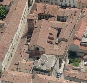 San Giovanni Domnarum dall'alto