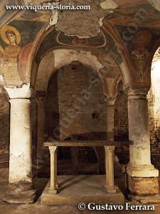 cripta di san giovanni domnarum: parte orientale