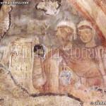 cripta di San Giovanni Domnarum : affresco di San Giovanni parzialmente distrutto
