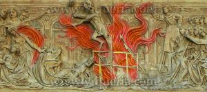 Il rogo di libri tra fine del Medioevo e prima età Moderna. La censura come forma di moralizzazione e di controllo