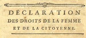 I diritti delle donne nel secolo dei Lumi: il periodo della reggenza e la Rivoluzione francese
