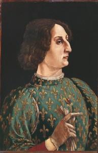 Galeazzo Maria Sforza, ritratto del Pollaiolo. [fonte: Wikipedia]