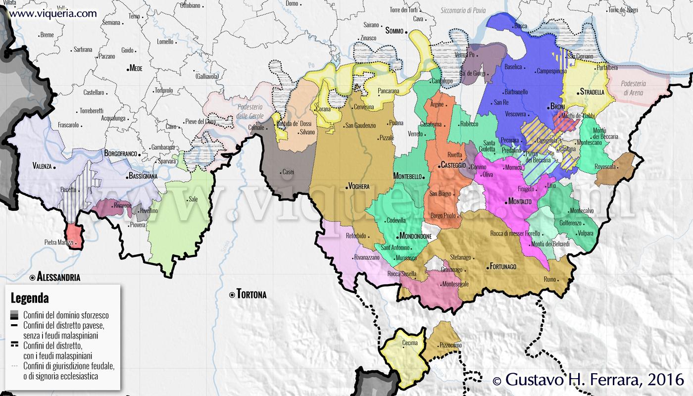 feudi distretto pavia 1470.