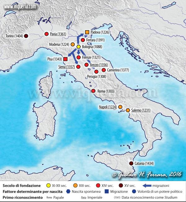 fondazioni in Italia