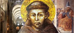 Francesco d'Assisi sulle vie delle Peregrinationes maiores